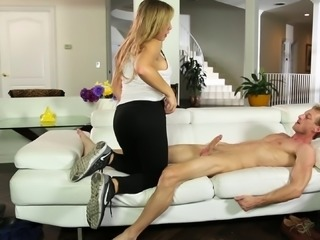 Blair Williams and Alix Lynx seduced by a hot fellow
