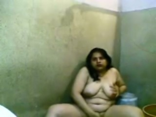 Amateur ugly as shit really fat Latina bitch flashed her fat body in dirty...