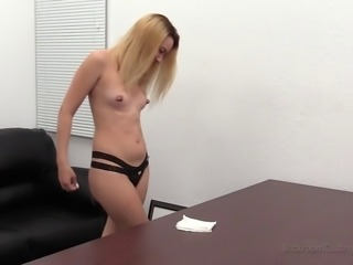 Melanie is a honey with pierced nipples who wants to fuck