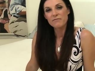 Brunette Milf Sucks Fat Dick - Part 2 at WildFuckCam dotcom