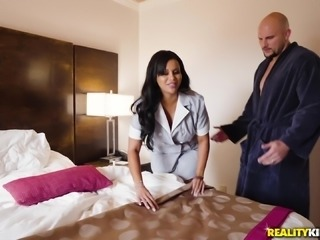 Mary Jean is a maid with a fine booty ready for a big dick