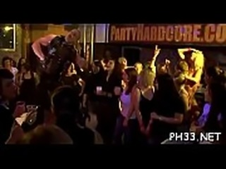 Wild party sex