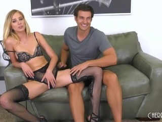 Amazing doggy style pussy draining with Haley Reed and Jay Smooth