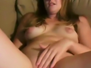 pretty girlfriend sits naked and lets her boyfriend spread her saved pussy...