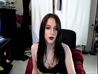 Hottie With Big Cock Strokes And Cums - DickGirls.xyz
