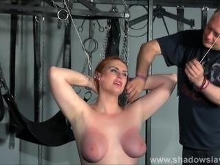 Amazon slave Chloe Davis humiliated and mercilessly punished in hard amateur...
