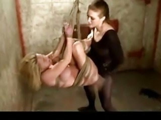 Dirty bitch surrenders to her Mistress and gets disciplined