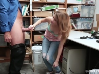 Huge dick is all petite brunette Ariel Mcgwire craves