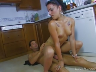 Tanned Beauty Can't Wait To Get Nasty