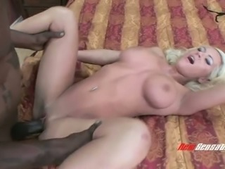 Busty white whore Megan Monroe having dirty sex fun with perverted BBC