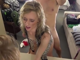 Casting with Anna brings her a lot of unexpected anal pleasure
