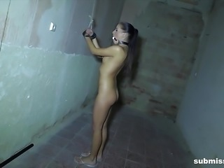 Smokin hot Eveline Dellai tied and fucked really really hard