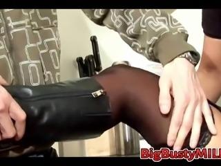 Boy Seduce MILF to Fuck