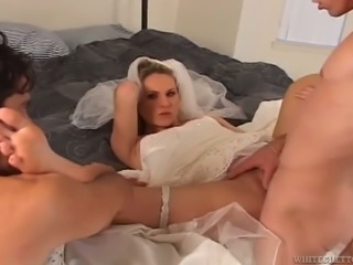 cuckolded on my wedding day slutty wife