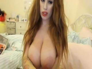Kristina Milan Webcam boobs 49