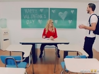 Brandi Love is a horny teacher seduced by a nasty guy