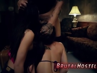 Nerd student to anal slave and fetish punishment gangbang