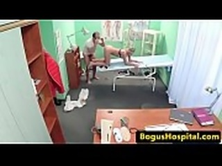 Creampied patient blowing doctors cock