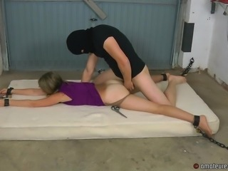 Anna gets fucked and tortured with the clit vibrator