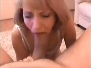 Sucking and gushing on Huge Thick cock