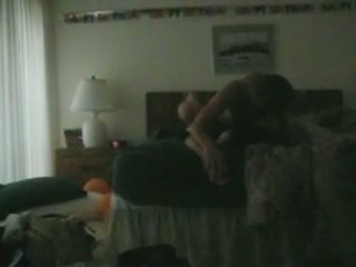 Extremely emotional dark haired babe of my buddy is fond of riding his dick