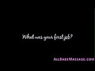 Cute masseuse get tasted