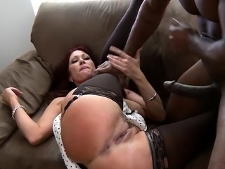 Blond mother i'd like to fuck enjoys a interracial hardcore