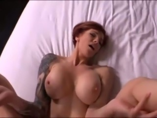 It is awesome to see this short haired slut enjoying my dick POV style