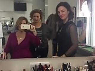 Nadia Sawalha Flashing Big Tits