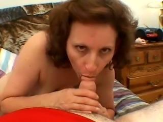 Pandora is a nasty mature slut and she always feels like sucking dick