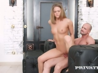 Russian beauty Jenny Manson turns out to be fabulous cock rider