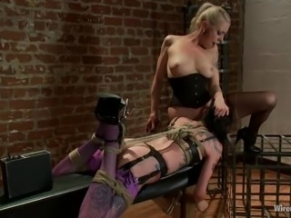 Hot Krysta Kaos gets tortured and toyed by her female boss