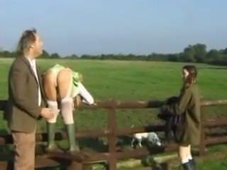 Classic Spanking Poacher Girls