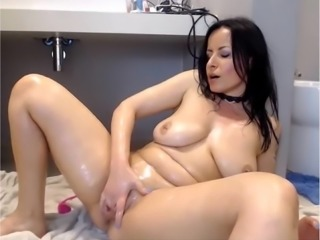 Pump Pussy-Deep Anal Queen: 8:20 Great Messy Squirt!