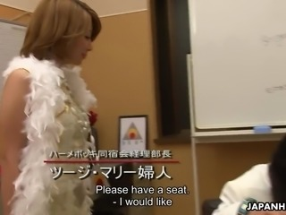 Have a look at Japanese sex cult with awesome blowjob guru Yuka Sawakita