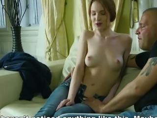 Natural nympho stretches juicy vagina and loses virginity59K