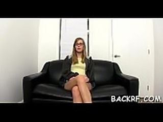 Sultry model bonks with her handsome interview to get a job