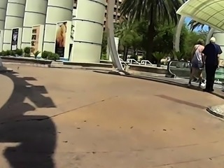 Street voyeur shoots a hot amateur girl with a fabulous ass