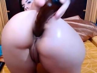 Webcam German Hot Girl Masturbate Anal Dildo