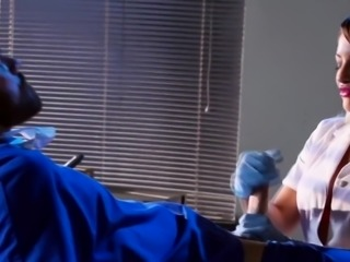 Horny Doctor decides to get some pussy to call nerves