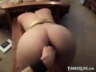 Squirting Teen first Anal