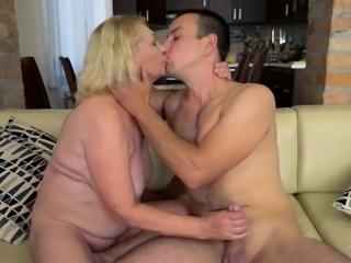 Slutty Mature Woman Gets Fucked Hard
