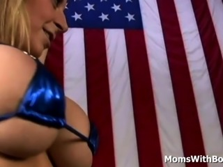Big Tit MILF Ring Girl Sara Jay Fucks A Black MMA Fighter