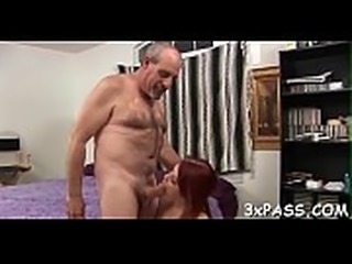 Playful fat girl seduces gorgeous fellow to bang her very well