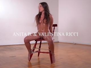 Latex Dominatrix Valentina Ricci Humiliates Petite Anita B.