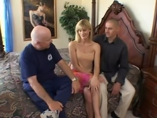Hardcore Banging Of Nasty Blonde Whore With Perfect Natural Tits