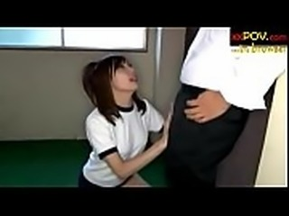 www.xxpov.com Asian masseuse gets cuffed and fucked