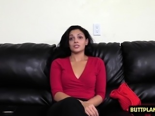Hot teen casting and creampie