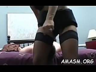 Amateur dude delights with babes smothering his face