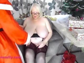 Santa has a present for Sally